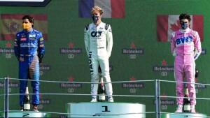 Il podio completato dagli ottimi Sainz e Stroll