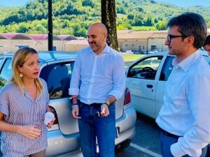 Francesco Baldelli con Giorgia Meloni