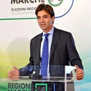 Francesco Acquaroli, presidente della Regione Marche (dalla sua pagina Facebook)
