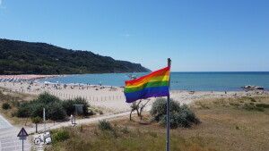 LGBT DIRITTI DI GENERE BANDIERA