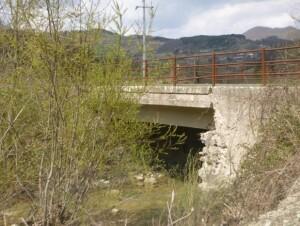 Ponte sulla Sp 153 nel comune di Apecchio
