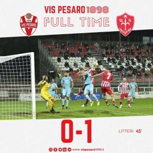 Vis-Triestina (grafica tratta dalla pagina Fb della Vis Pesaro)