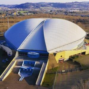 Vitrifrigo Arena dall'alto