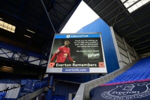 Il messaggio dei tifosi Everton a Marcus Rashford, una grande emozione