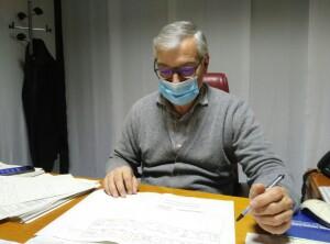 Il direttore generale della Provincia Marco Domenicucci
