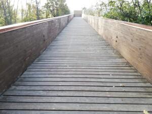 Ponte ciclopedonale bottega pian del bruscolo
