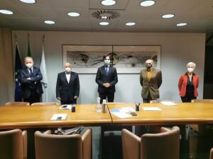 Presidenti Province con presidente Regione Marche Acquaroli