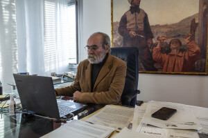 Il Presidente della Provincia Giuseppe Paolini