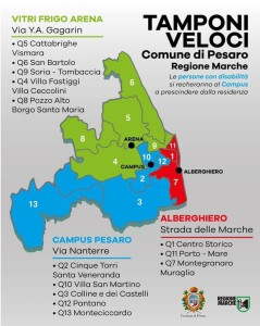 Screening di massa Pesaro