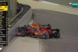 Incidente Leclerc -Verstappen