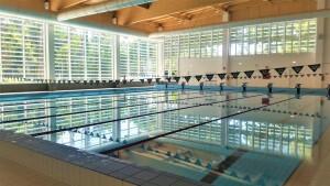 La piscina dell'impianto Facchini in via Togliatti