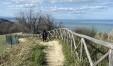 Un angolo della Montagnola con vista sulla riviera romagnola