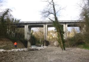 Ponte sulla SP 141 a Pergola