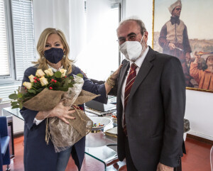 Giuseppe Paolini con Marcella Tinazzi