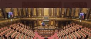 L'aula del Senato della Repubblica sempre più palazzo del Marchese del Grillo dove la casta tutela i propri privilegi