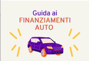 automobile - guida al finanziamento