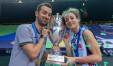 Monica De Gennaro e Daniele Santarelli, la coppia regina della pallavolo europea (Foto dalla Galleria della Cev, la federazione europea),