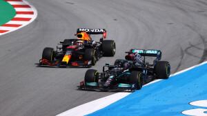 Il sorpasso decisivo di Hamilton a Verstappen