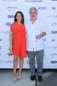 La regista Marta Miniucchi e il produttore Paolo Rossi Pisu
