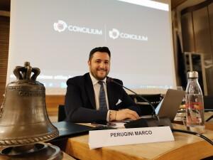 Marco Perugini, presidente del Consiglio comunale