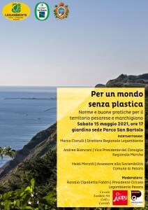 Per un mondo senza plastica _