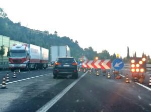 autostrada lavori