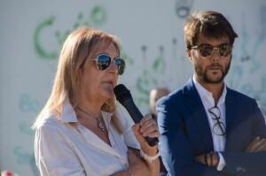 Gli assessori Giuliana Ceccarelli e Riccardo Pozzi