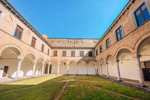 Cortile Palazzo Ducale Urbania