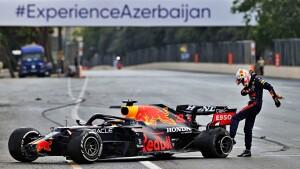 Verstappen sfoga la rabbia contro la gomma esplosa