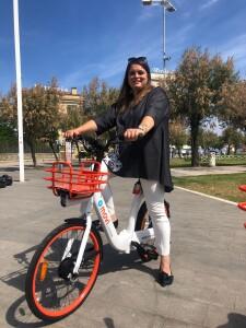 Heidi Morotti su E-Bike