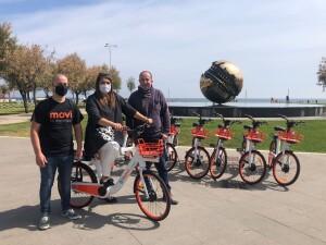 Heidi Morotti e Daniele Vimini su E-Bike