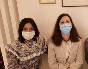 Mila Della Dora e Sara Mengucci