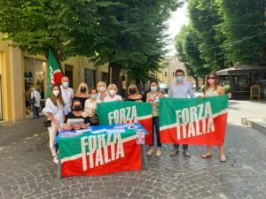 Forza Italia - Sit in
