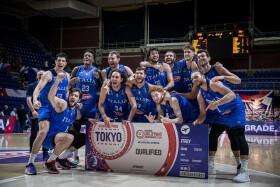 Italia del basket alle Olimpiadi