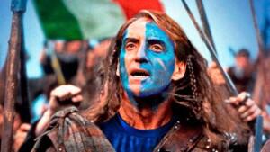 La copertina che The National, quotidiano scozzese, ha dedicato a Roberto Mancini