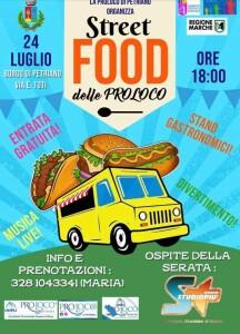 Locandina Street Food delle Pro Loco