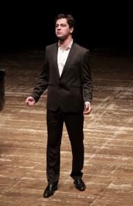 Giorgi Manoshvili, cantante georgiano che sarà Lord Sidney (Foto Amati Bacciardi)