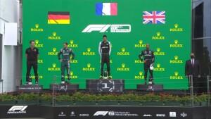 Ocon, Vettel e il solito Hamilton nel podio del GP di Ungheria