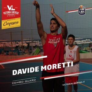 Welcome Davide Moretti