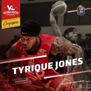 Welcome Tyrique Jones