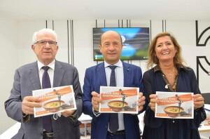 Angelo Serra, Amerigo Varotti e Barbara Marcolini di Confcommercio Marche Nord