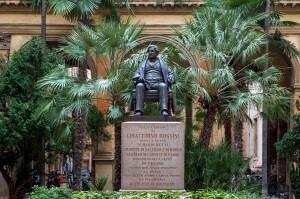 Il busto di Gioachino Rossini (Foto Luigi Angelucci)