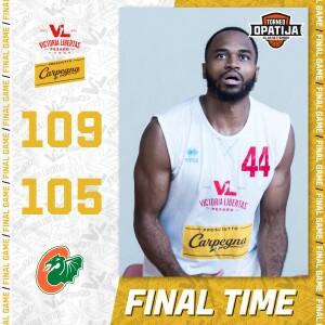 Final Score Olimpia Lubiana-Vuelle