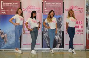 Da sinistra Greta Mancinelli di Pergola, Ilaria Giorgini di Falconara Marittima, Elena Boncompagni di Osimo e Stella Claudia Monachesi di Porto San Giorgio