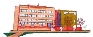 Uno dei lavori degli studenti pubblicato sul sito