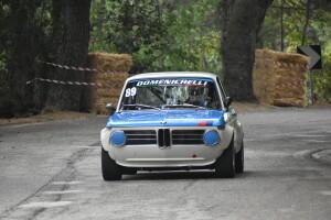Il pesarese Roberto Domenichelli vincitore della classe 1600 con la BMW (Foto Michele Puccioni)