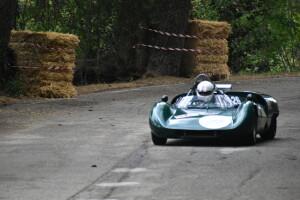 La Lotus dell'austriaco Harald Mossler vincitore del 1° raggruppamento (Foto Michele Puccioni)